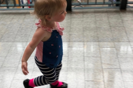 toddler walking in Spinefulness