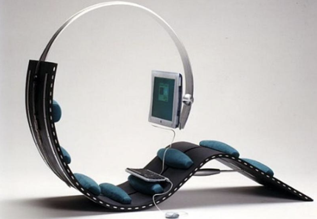 modern chairs. the caterpillar chair for comptuing